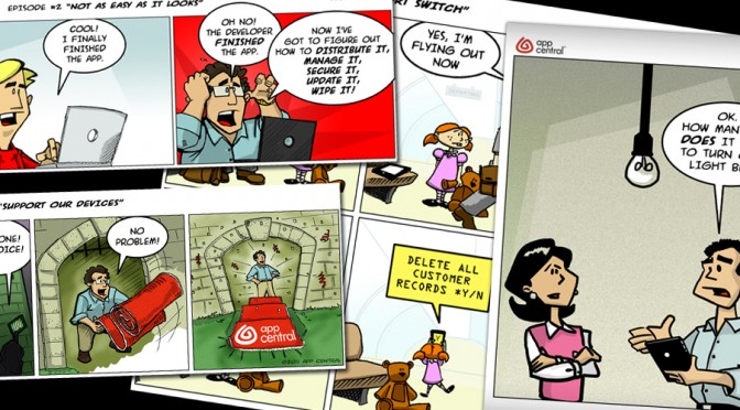 STUDIO PROJECT: APPCENTRAL COMIC STRIP