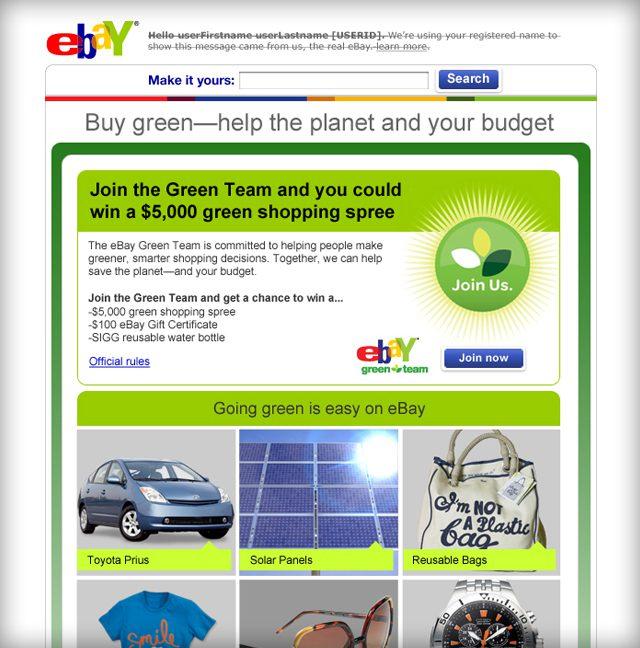 eBay HTML Newsletter Design