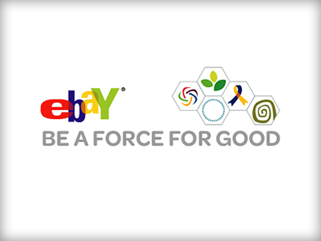Logo Design: eBay (Be A Force For Good Campaign)