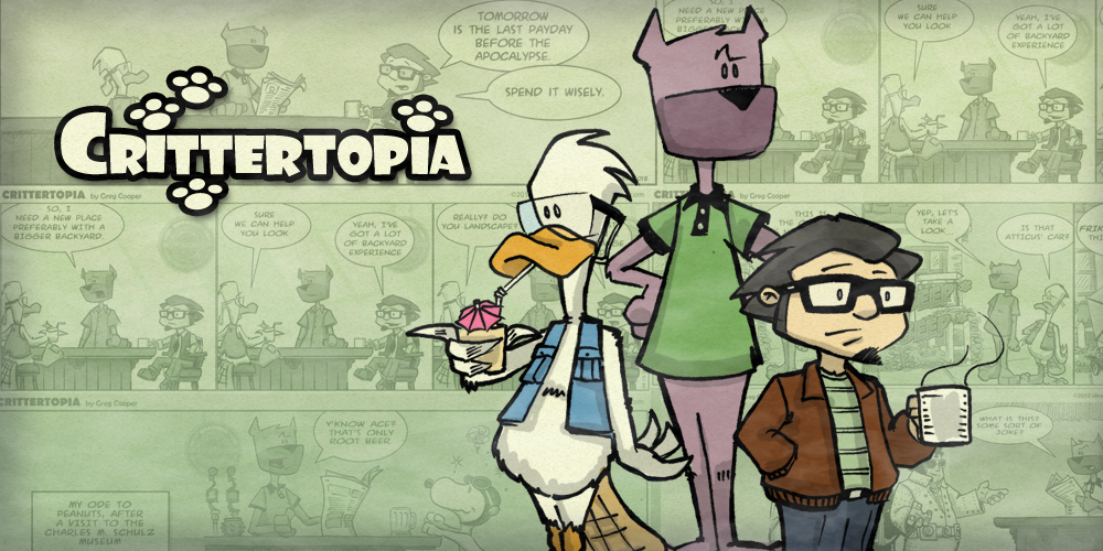 Crittertopia Comic Strip