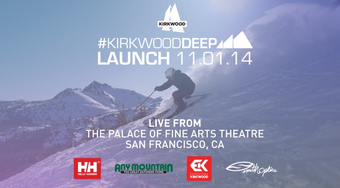 #KirkwoodDEEP Launch: Live from the Palace Of Fine Arts