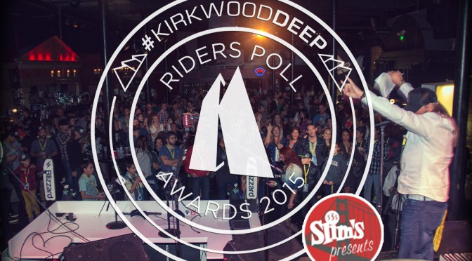 Live Event: #KirkwoodDeep 1st Annual Riders Poll (Live At Slim's)