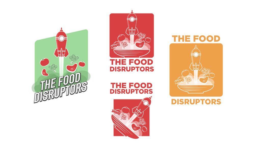 The Food Disruptors Logo revisions round 2